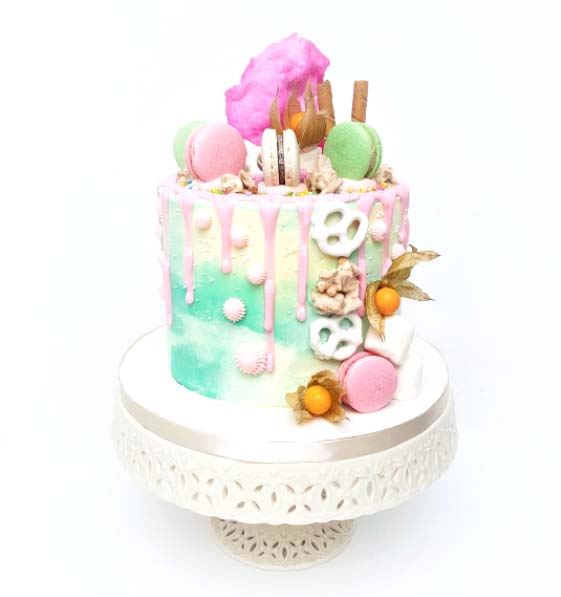 Amazing Cotton Candy Cake Toronto Birthday Cakes Buttercream Cakes Funny Birthday Cards Online Bapapcheapnameinfo