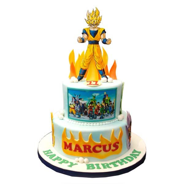 Home > Products > Cakes > Celebration Cakes > Dragon Ball Z Cake