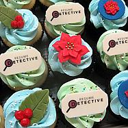 Holiday & Logo Cupcakes