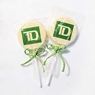 Branded Logo Chocolate Pops